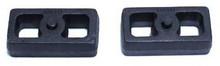 """1999-2006 GMC Sierra 1500 2wd 1"""" Cast Lift Blocks - MaxTrac 810010"""