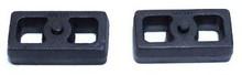 "2001-2010 Chevy Silverado 1500HD 2wd/4wd 1.5"" Cast Lift Blocks - MaxTrac 810015"