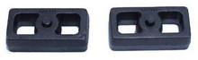 """2001-2010 GM 2500 HD 2wd/4wd 2"""" Cast Lift Blocks - MaxTrac 810020"""