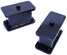 """1999-2006 GMC Sierra 1500 2wd 3"""" Fabricated Lift Blocks - MaxTrac 810030"""