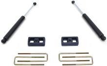 """2002-2008 Dodge RAM 1500 2wd 2"""" Lift Blocks & U-Bolts W/ Shocks - MaxTrac 902120"""