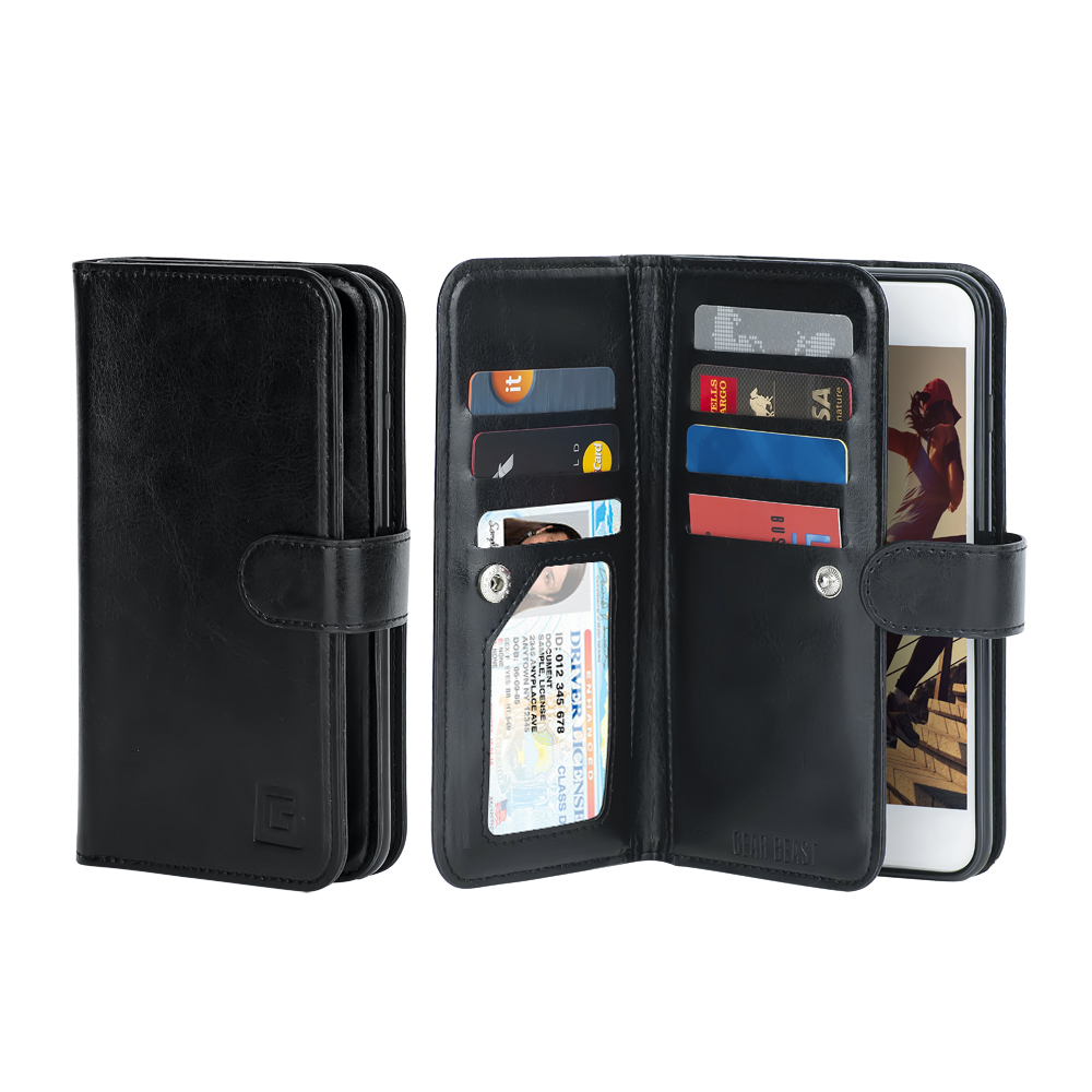 cheap for discount 51a17 f4653 Dual Folio Smartphone Wallet Case for Apple iPhone 8 Plus and iPhone 7 Plus