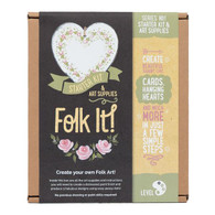 Folk It art Series 1 Art Supplies Starter