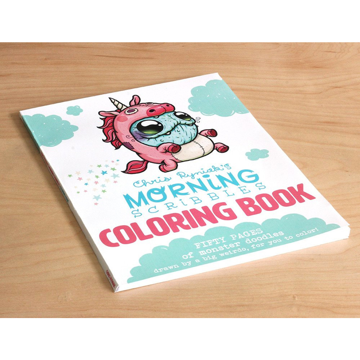 morning scribbles coloring book by chris ryniak myplasticheart