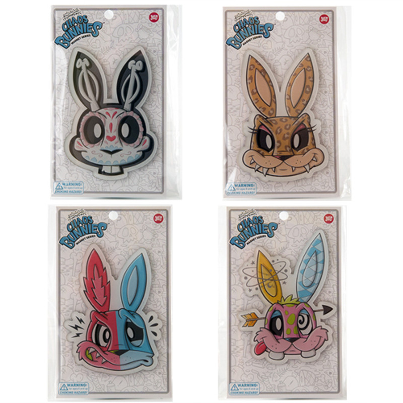 Chaos Bunnies Magnet : Random Assortment