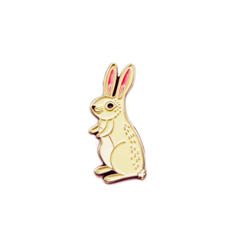 Bunny Enamel Pin