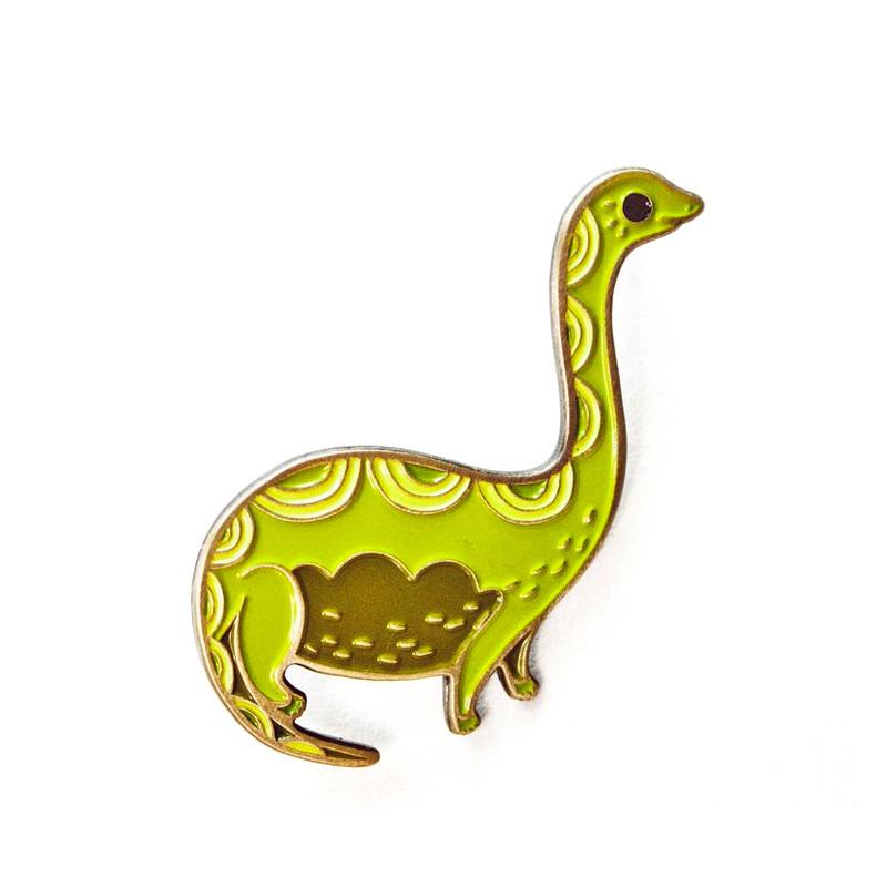 Brontosaurus Enamel Pin