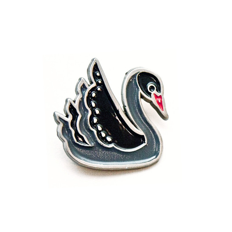 Black Swan Enamel Pin