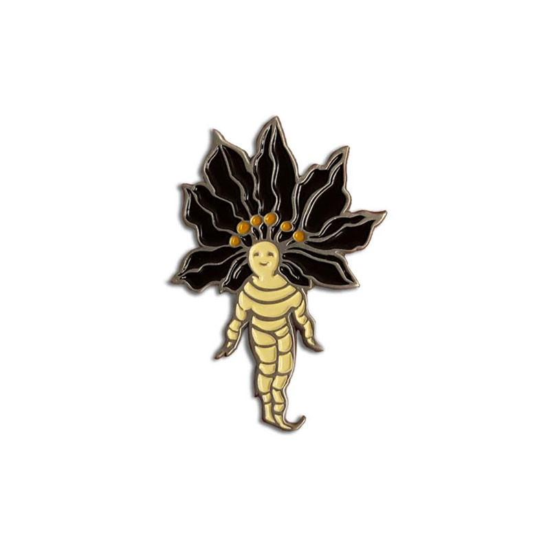 Mandrake Enamel Pin