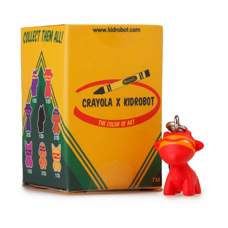 Crayola Munny Zipperpulls : Blind Box