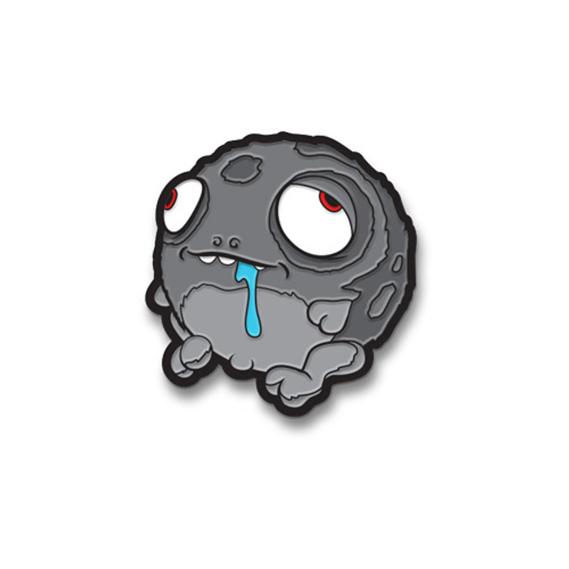 Worrible Enamel Pin