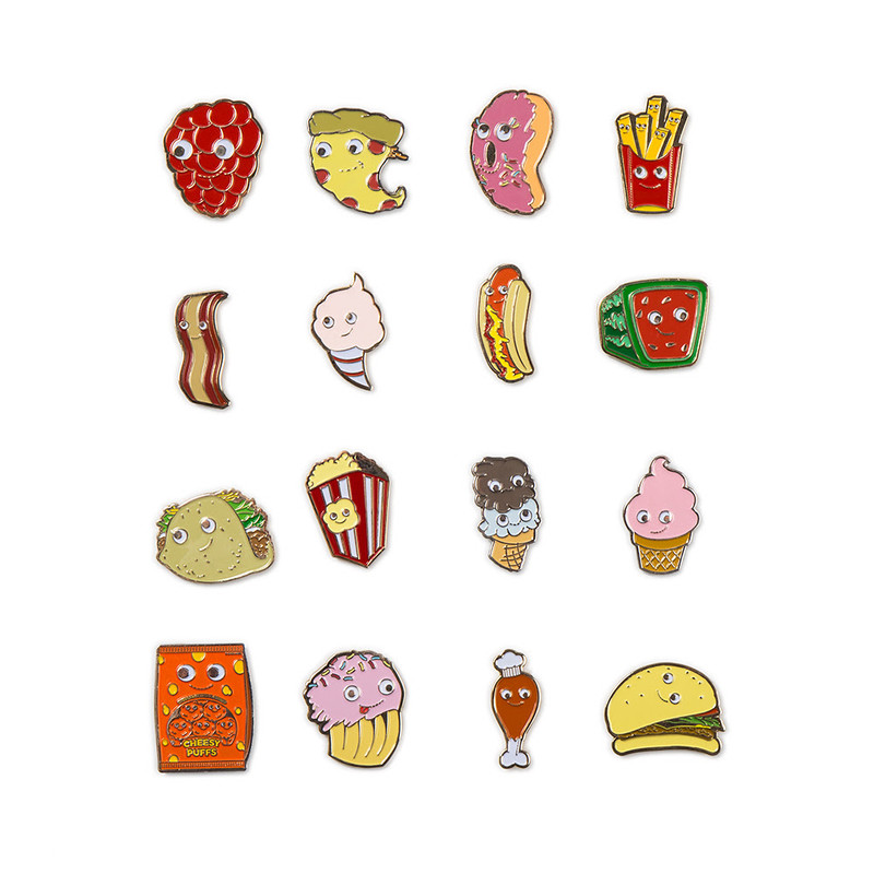 Yummy World Enamel Pin Series : Blind Box
