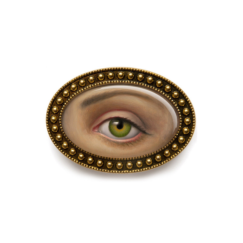 Lover's Eye Brooch SHIPS IN APR 2017