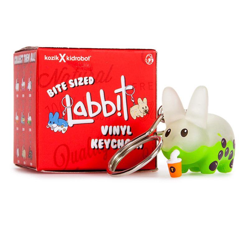 Bite Sized Labbit Vinyl Keychains : Blind Box