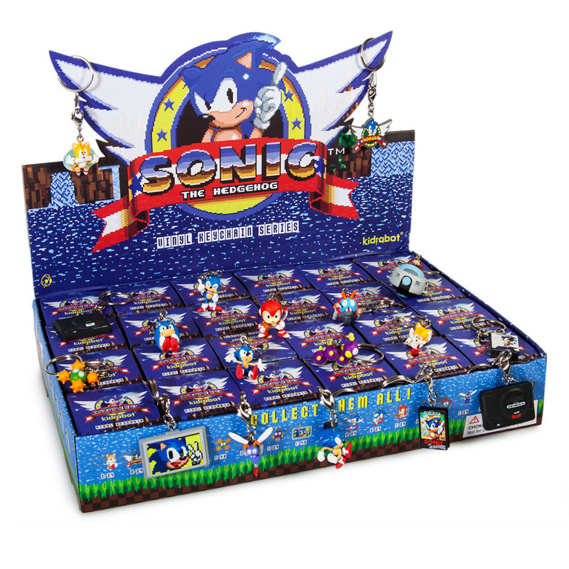 Sonic the Hedgehog Keychain Series : Case of 24