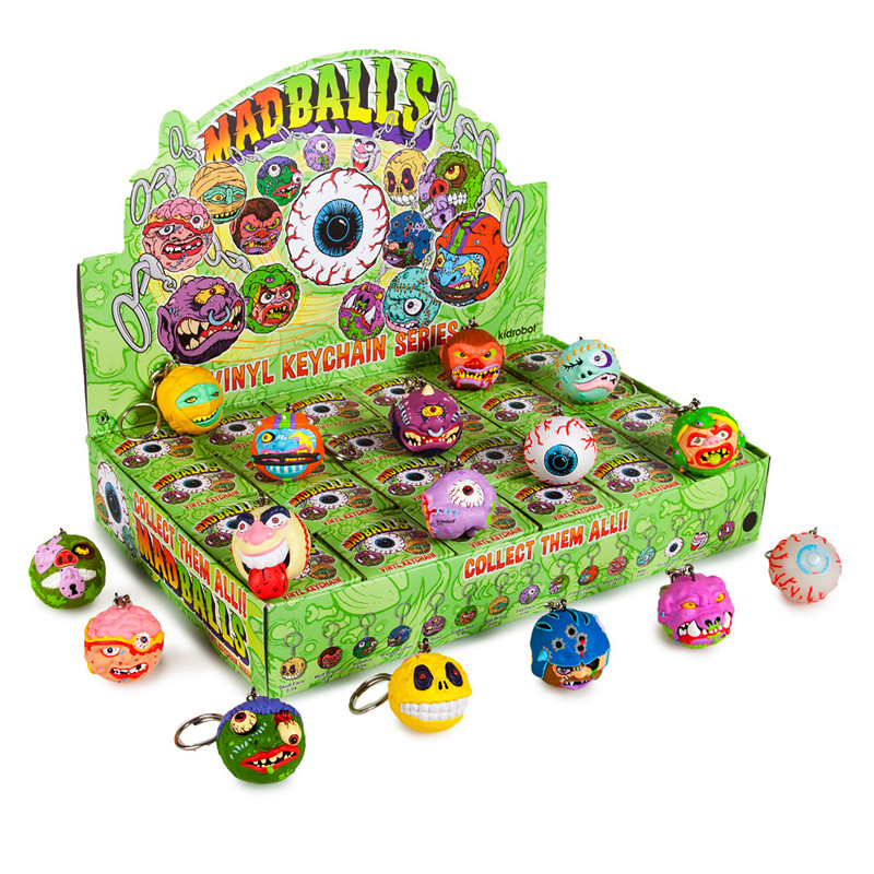 Madballs Keychain Series : Case of 24