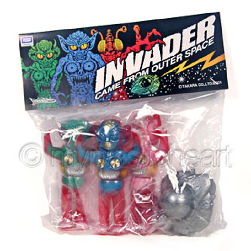 Takara Alien Invader Set