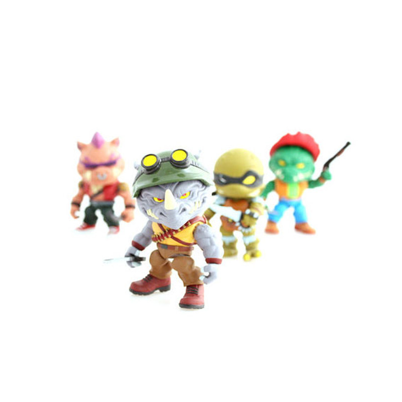 Teenage Mutant Ninja Turtles Wave 2 : Case of 16