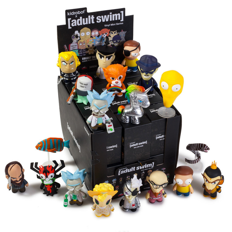 Adult Swim Mini Series : Case of 24 PRE-ORDER SHIPS APR 2017