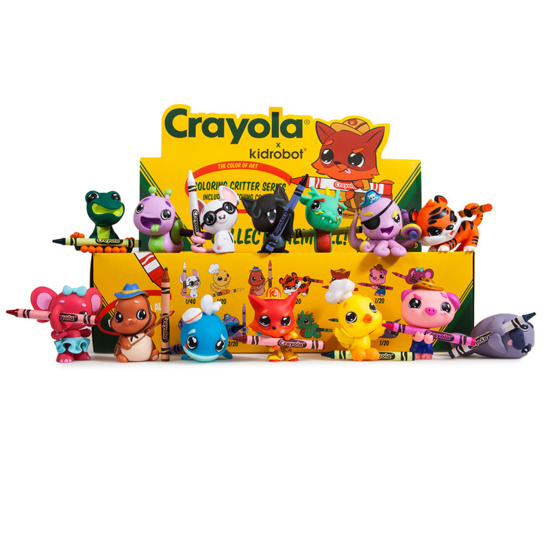 Crayola Coloring Critters : Case of 20