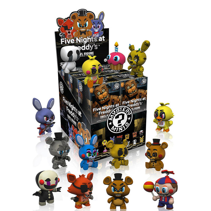 Five Nights at Freddy's Mystery Mini : Case of 12