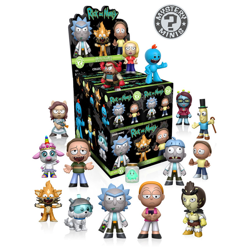 Rick and Morty Mystery Mini : Case of 12