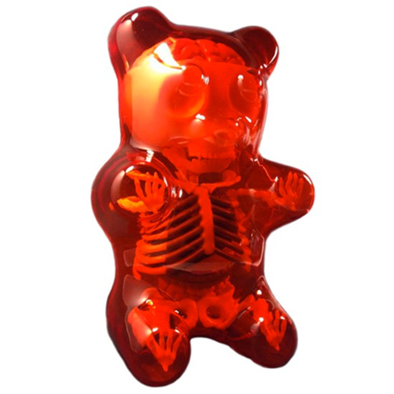 Gummi Bear Anatomy : Red