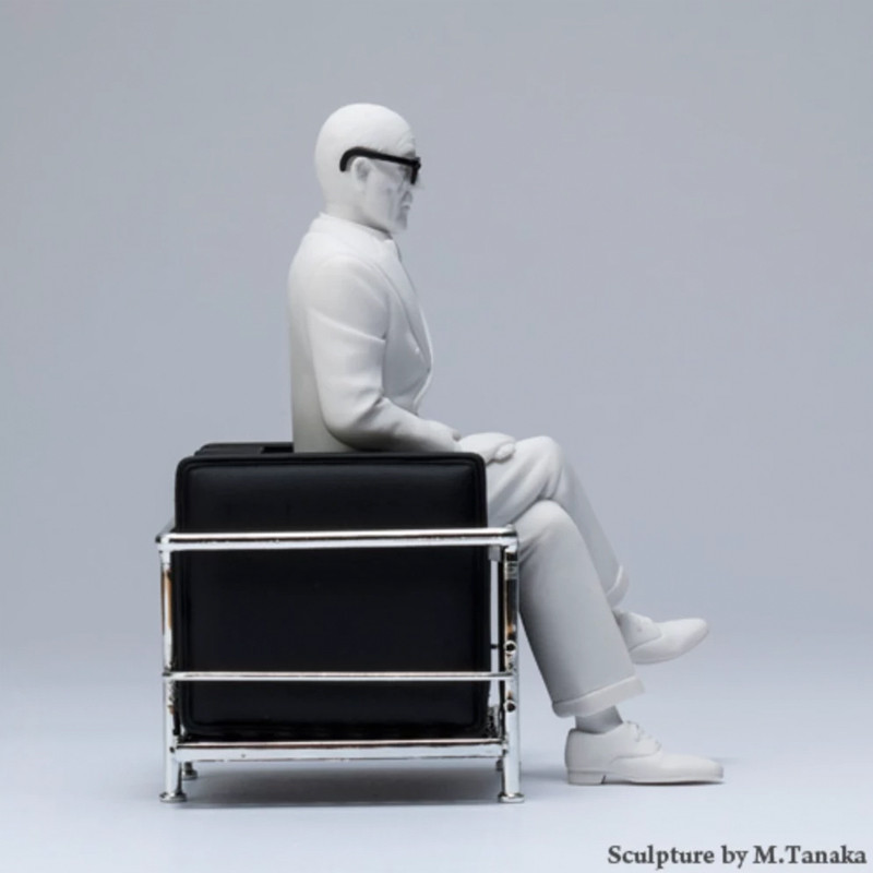 Design interior collection le corbusier in lc2 chair - Canape lc2 le corbusier ...