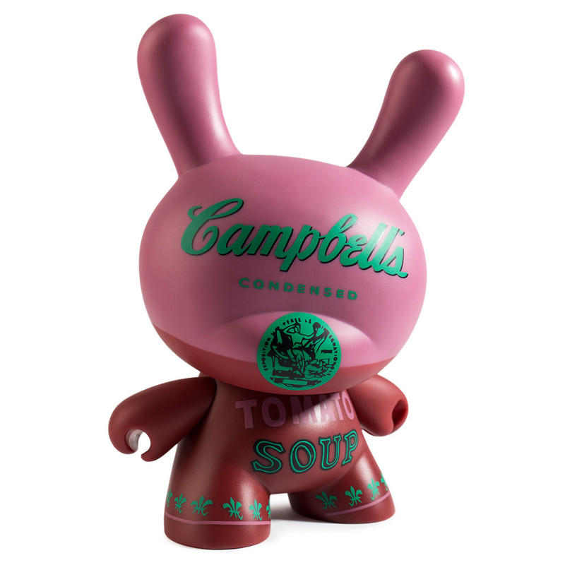 Andy Warhol 8 inch Masterpiece Dunny :  Campbells Soup Can PRE-ORDER SHIPS SEP 2017