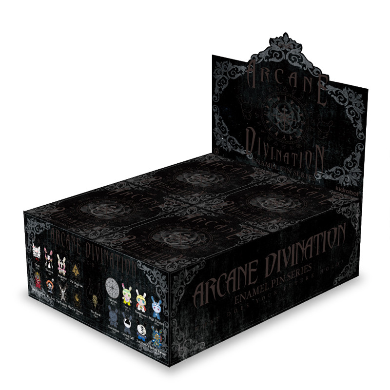 Arcane Divination Enamel Pin Series : Case of 20 PRE-ORDER SHIPS JUL 2017