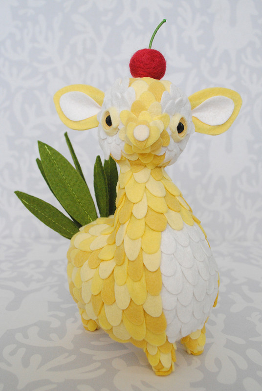 Pineapple Topping by Horrible Adorables