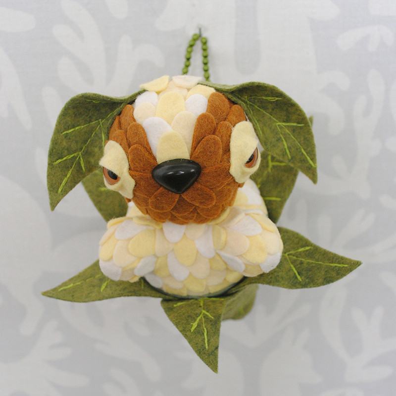 Butter Pecan Leaf Peeper by Horrible Adorables