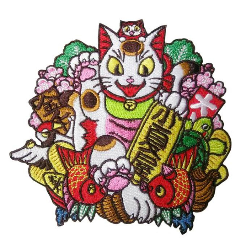 Negora Kumade Embroidered patch by Konatsu PRE-ORDER SHIPS MAY 2017