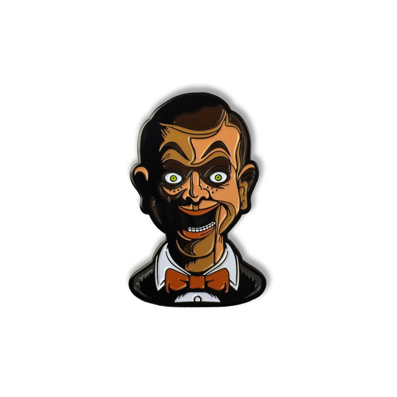Goosebumps Living Dummy Enamel Pin