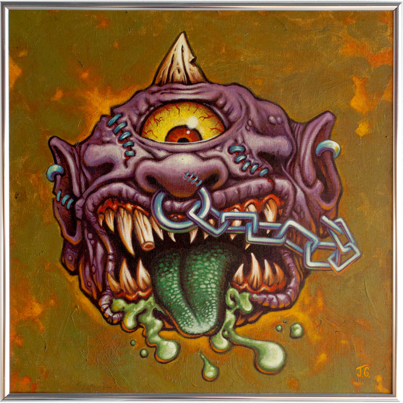 Hornhead by James Groman ***SOLD***