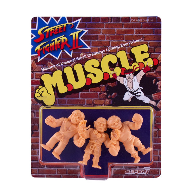 Street Fighter 2 MUSCLE Wave 1 : Pack B