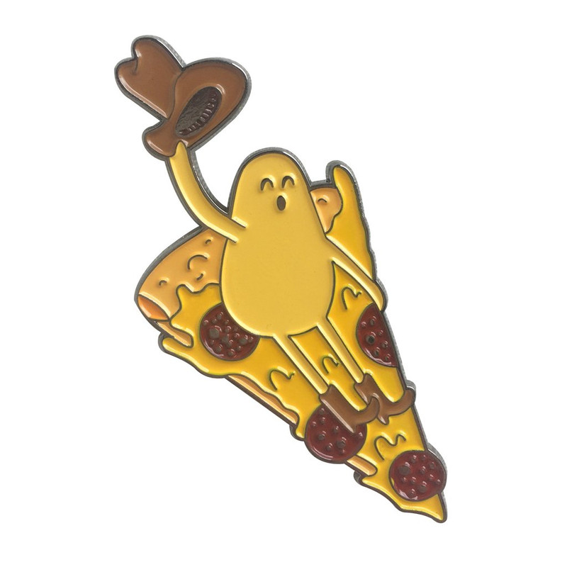 Pizhaaw! Enamel pin