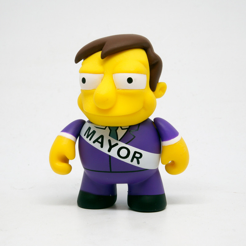 Simpsons 25th Anniversary Mini Series : Mayor Quimby *OPEN BOX*