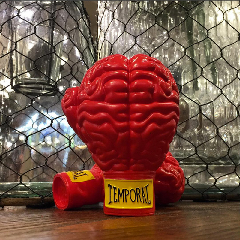 Vinyl Boxing Brain by Ron English