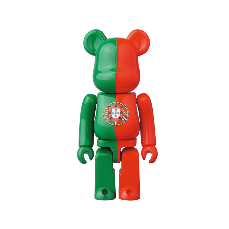 Be@rbrick 34 : Flag (Portugal) *OPEN BOX*