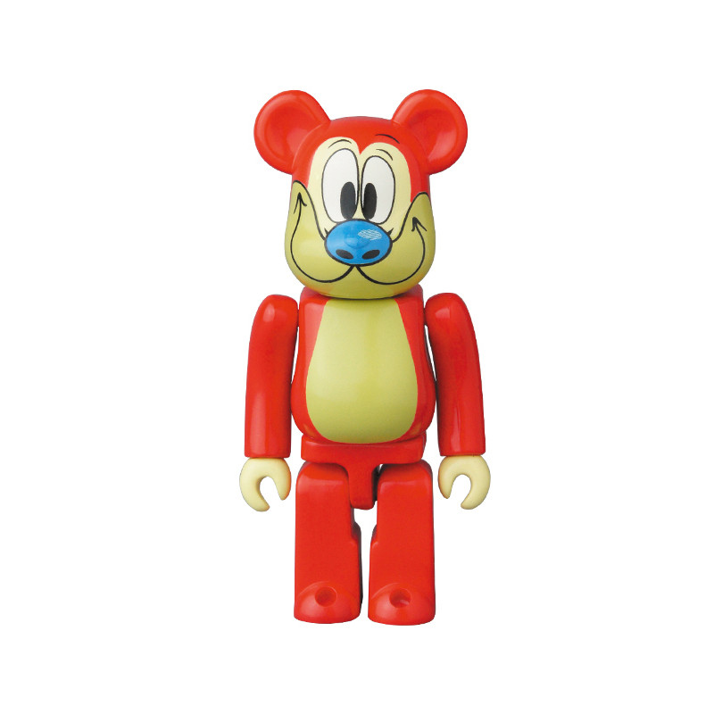 Be@rbrick 34 : Animal Stimpy (Ren and Stimpy) *OPEN BOX*
