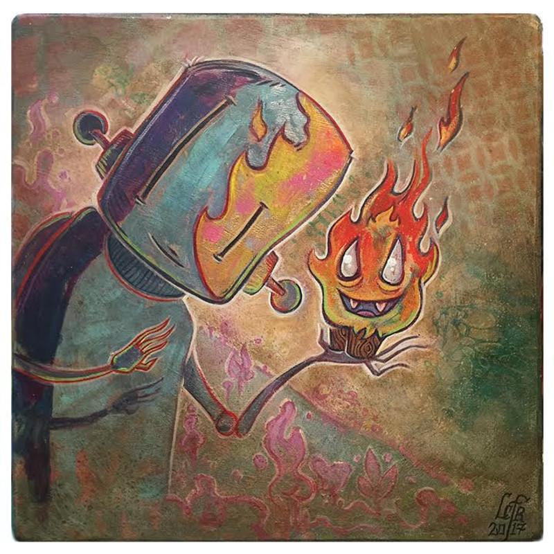 Poboy & Honoo by Leecifer