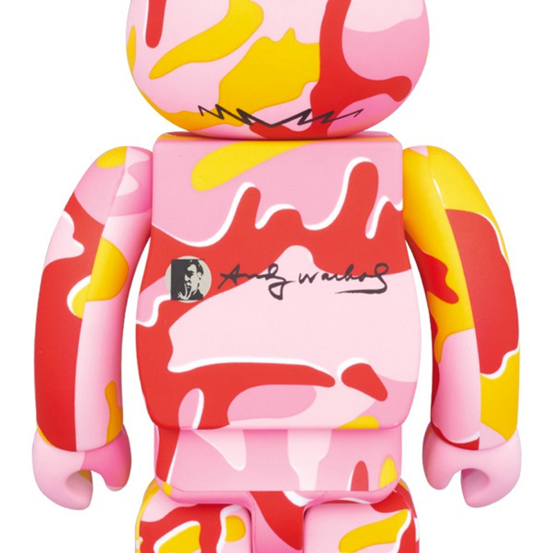Be@rbrick 400% and 100% : Andy Warhol Camo PRE-ORDER SHIPS OCT 2017