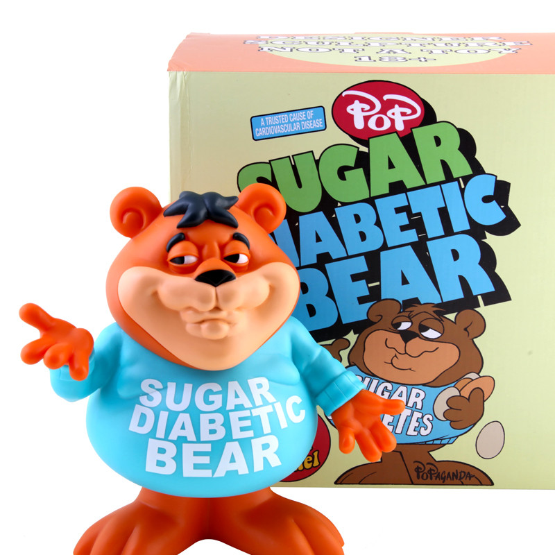 Sugar Diabetic Bear by Ron English