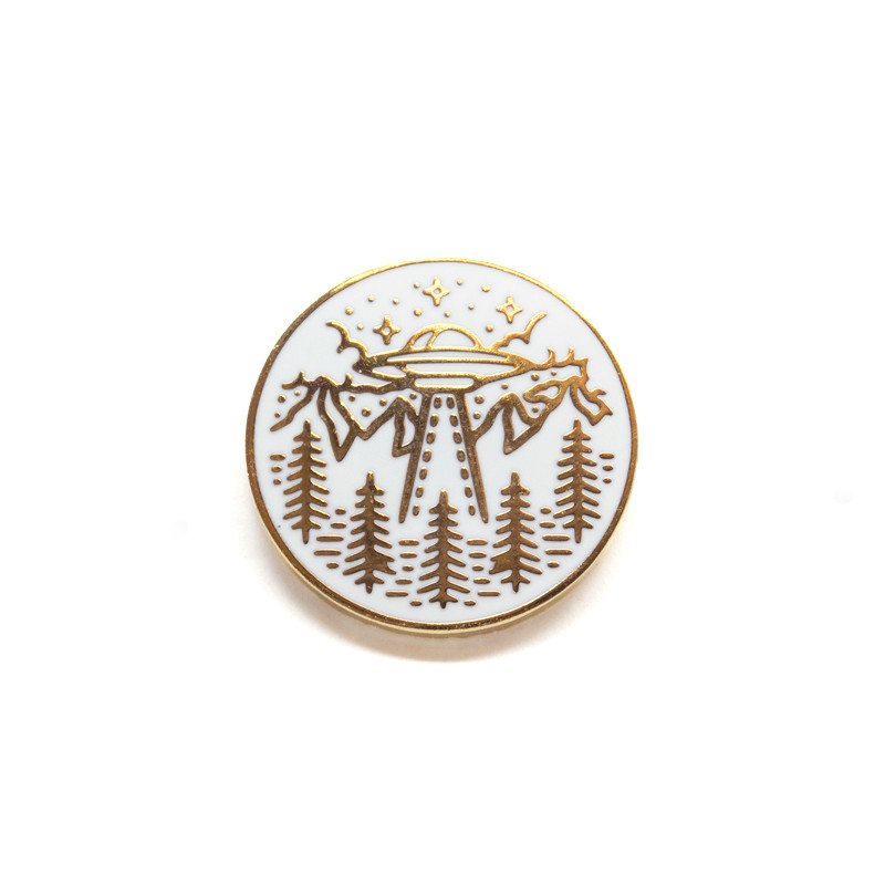 UFO Enamel Pin