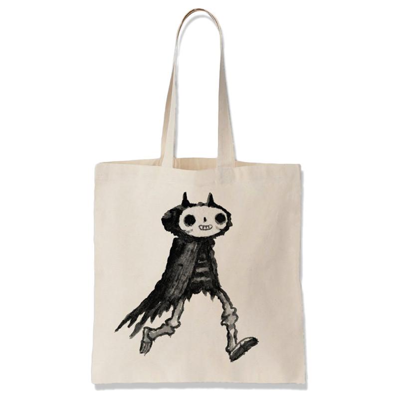 Devil Bones Tote Bag