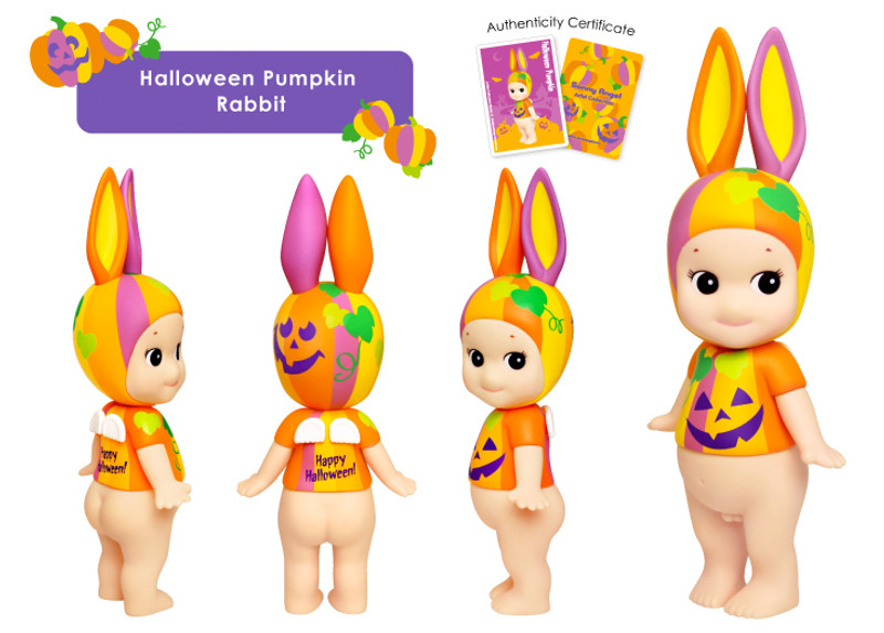 Sonny Angel Artists Collection : Halloween Pumpkin Rabbit