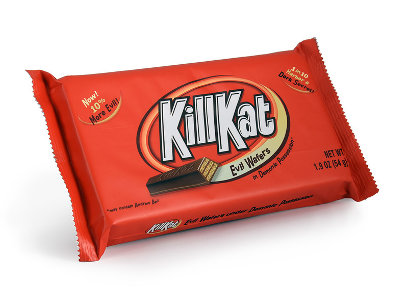 Kill Kat : Milk Chocolate