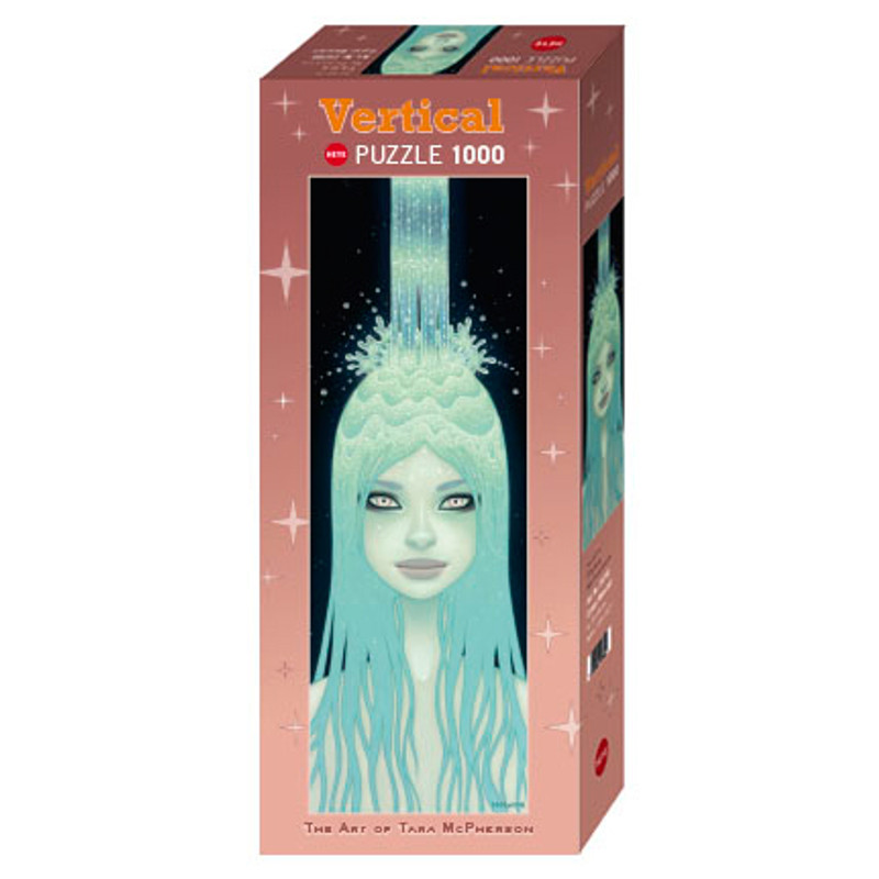 Crystal Water 1000 Piece Vertical Puzzle by Tara McPherson
