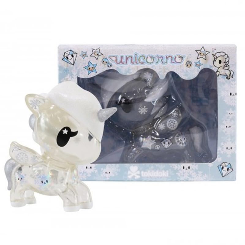Yuki Holiday 5 inch Unicorno Vinyl : Clear